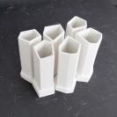 fired porcelain tubes