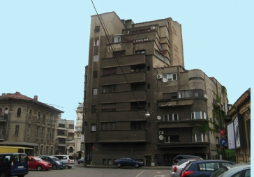 Example of endangered housing tower block
