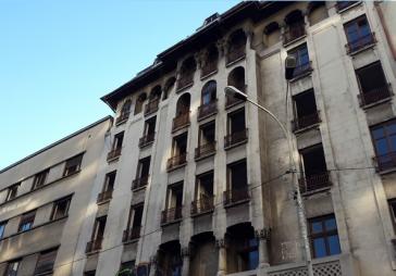Example of endangered housing tower block
