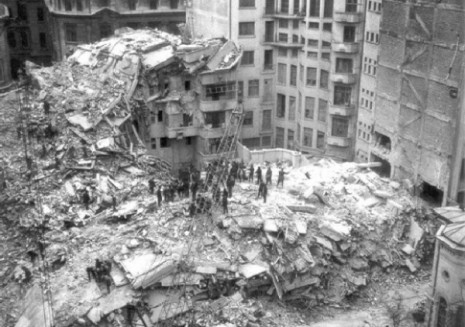 1977 Earthquake in Bucharest