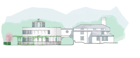 Proposed scheme - south elevation