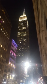 Barely recognisable Empire State Building