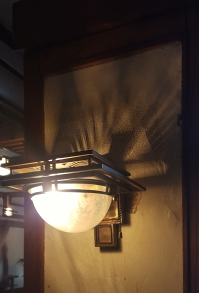 lovely shadows cast by the lightfitting