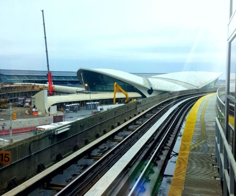 JFK from airtrain