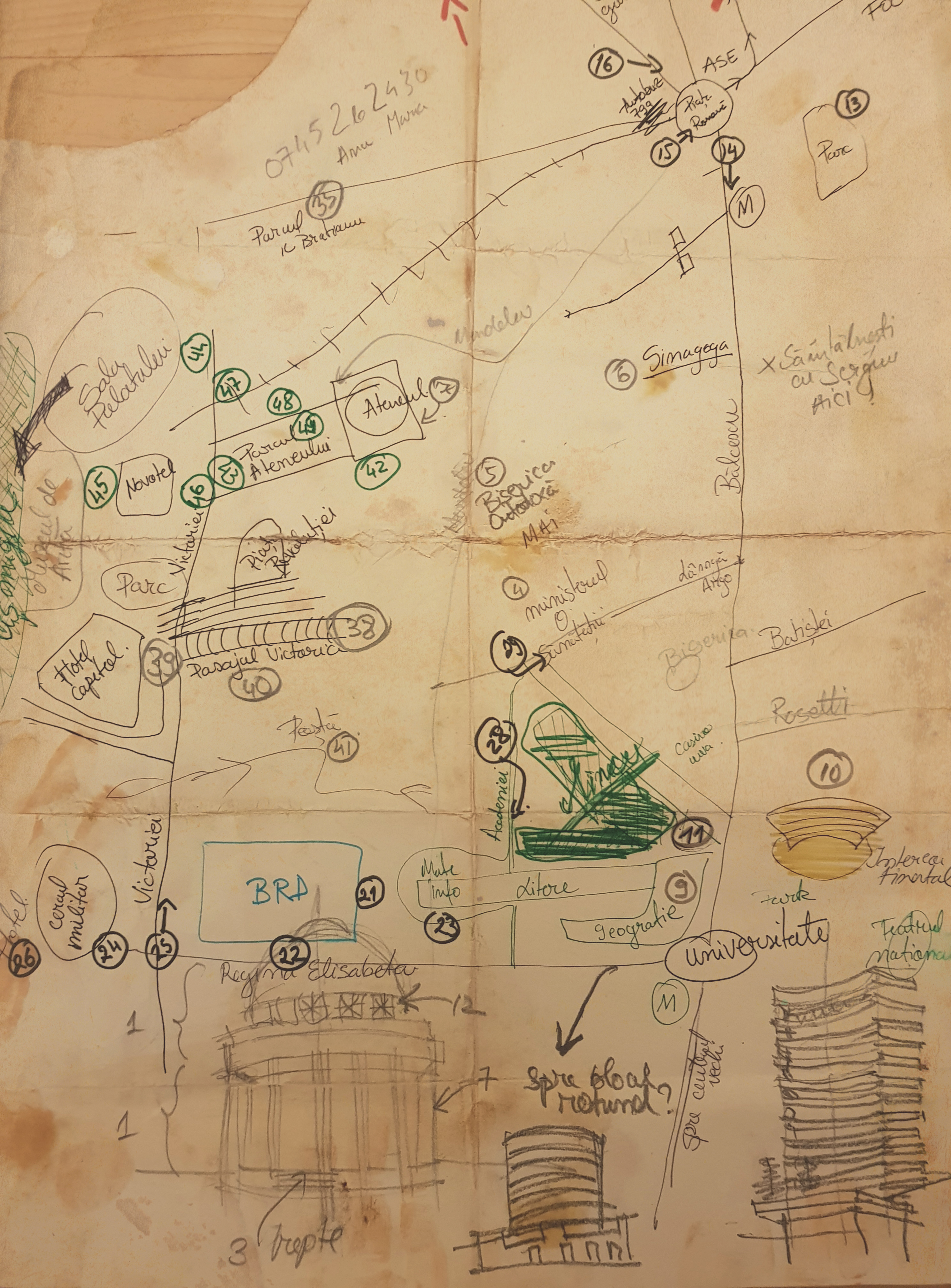 Crista Popescu Map