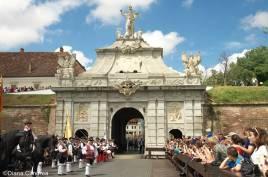 the Apulum gates