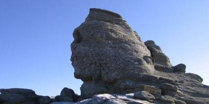 The Bucegi Mountains peak - The Sphinx Rock